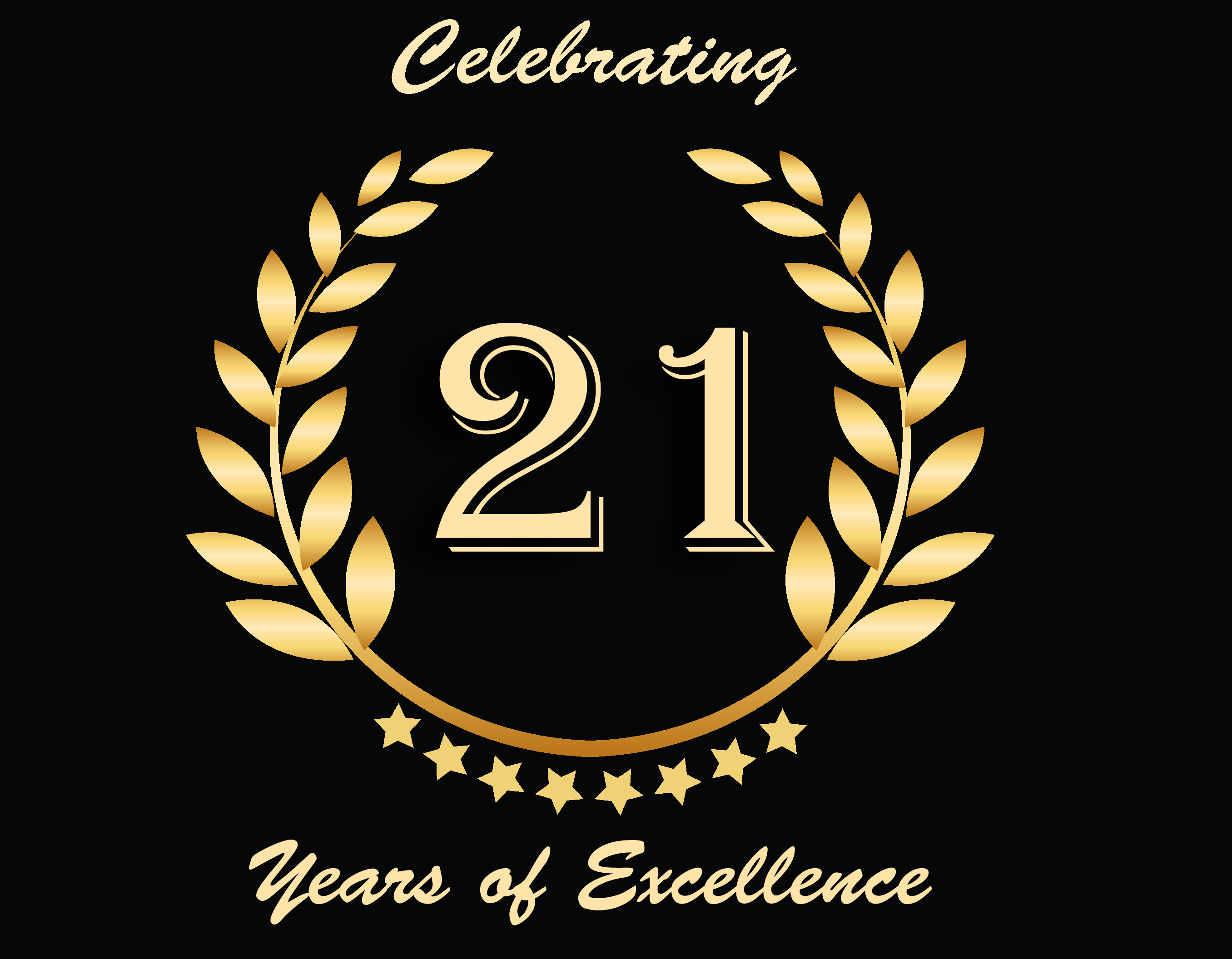 We are celebrating 21 Years of excellence in education